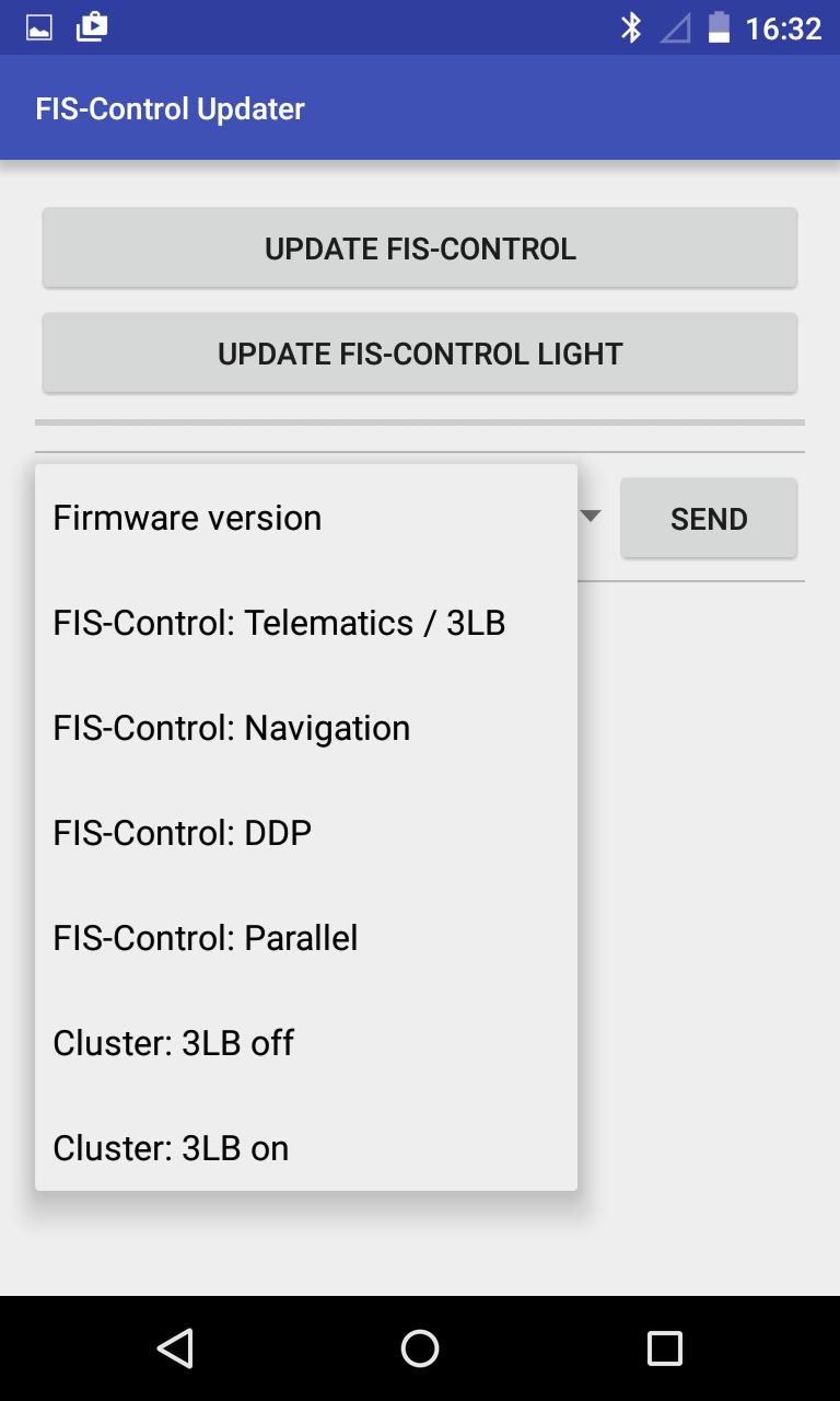 FIS-Control manual